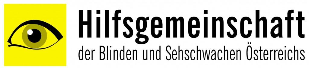 Logo der Hilfsgemeinschaft der Blinden und Sehschwachen