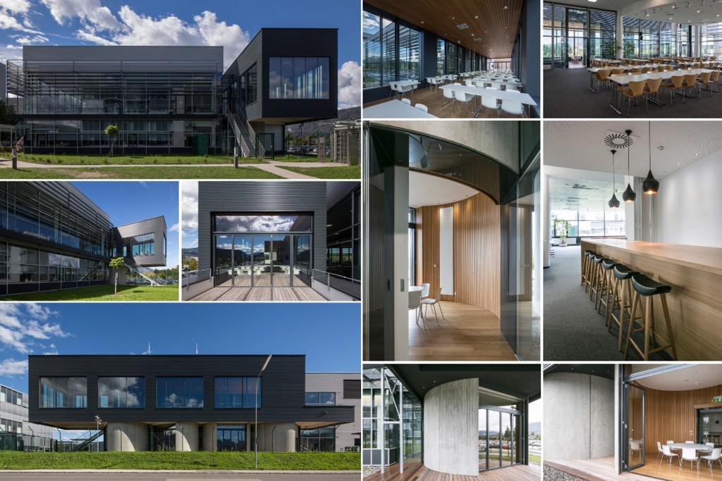 Architekturbeispiel Infineon Villach