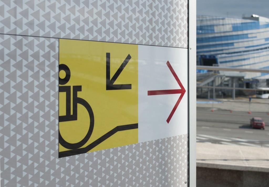 Piktogramm Rollstuhlfahrer