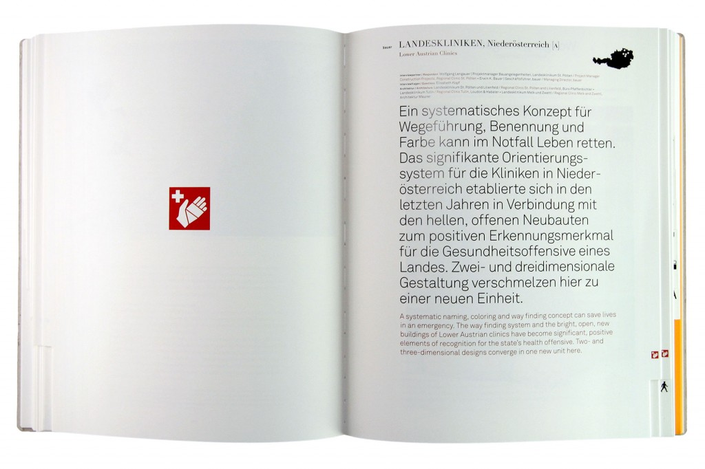 Projektseite im Buch