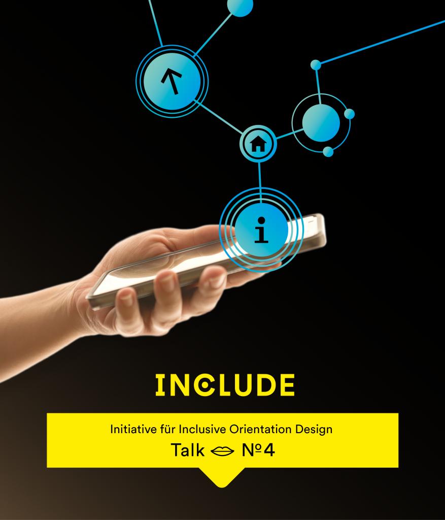 Einladungsbild: Hand mit Handy